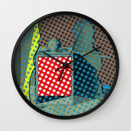 Pop Morandi Wall Clock
