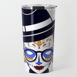 Mad Hatter Sugar Travel Mug