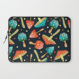 Bright mushrooms Laptop Sleeve
