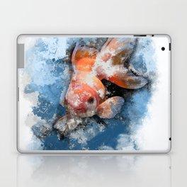 Wish on a Goldfish Laptop & iPad Skin