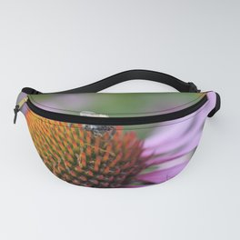 Bumblebee on pink flower Fanny Pack