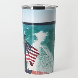 Chris Craft Boating Travel Mug
