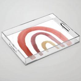 Fruit Punch Rainbow Acrylic Tray