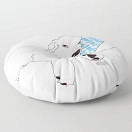 Sleep - Golden Retriever Floor Pillow