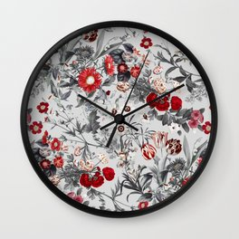 EXOTIC GARDEN XVII Wall Clock