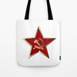 Soviet Badge Insigni Tote Bag