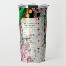 Fall In Love With Herself Travel Mug