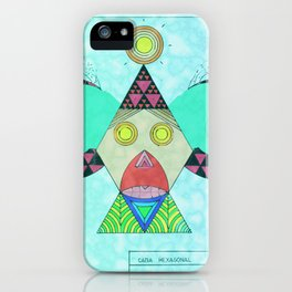 Cara Hexagonal iPhone Case