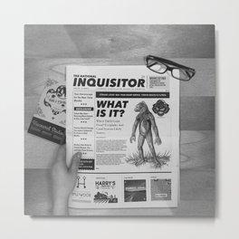 Inquisitor Metal Print