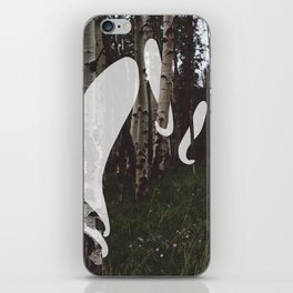 Ghosts In The Woods iPhone Skin