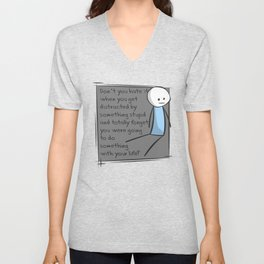 Distractions Unisex V-Neck