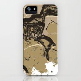 Dino Fosil iPhone Case
