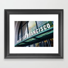 Port of San Francisco Framed Art Print