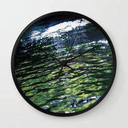 like a rivulet Wall Clock