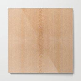 Elegant Light brown wood grain texture Metal Print