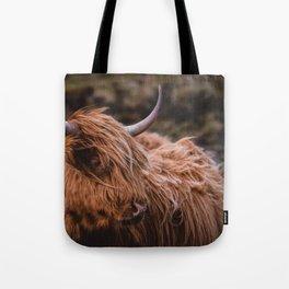 Highland Coo Tote Bag