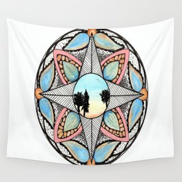 Morning Direction Wall Tapestry