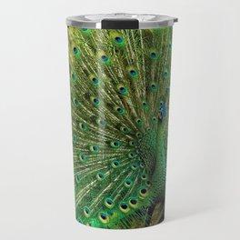 Beautiful Peacock Travel Mug