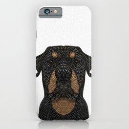 Rottweiler - Teddy iPhone Case