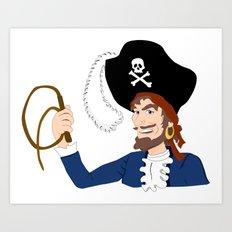 not spongin' for rum Art Print