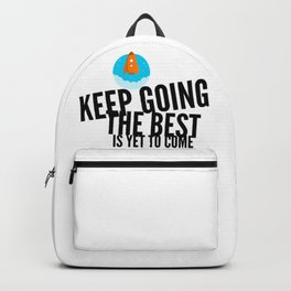 Best Entrepreneur Quotes - Keep Going Backpack