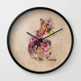 French horn Wall Clock
