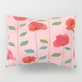 Wild Poppies Pillow Sham
