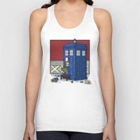 hallion Tank Tops featuring Who wants to Build a Snowman? by Karen Hallion Illustrations