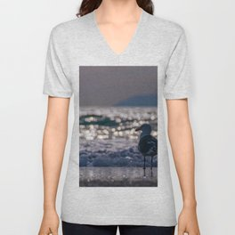 Afternoon Seagull Unisex V-Neck