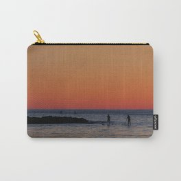 Paddleboarding Pairs - Mackinzie Beach Sunset Carry-All Pouch