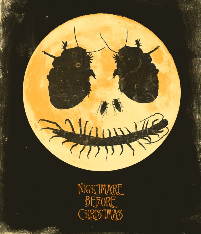 Nightmare Before Christmas - Movie Poster Art Print by joelamatguell ...