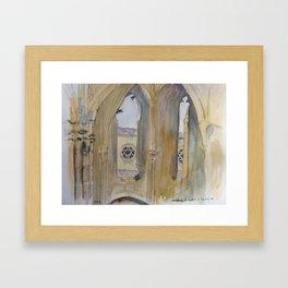 Abbaye d'Alet Framed Art Print