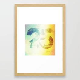 25 Framed Art Print