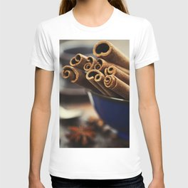 Close up of coffee and spices T-shirt