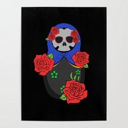 Skull matrioska Poster