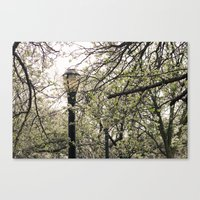narnia Canvas Prints featuring Faux Narnia  by phokai
