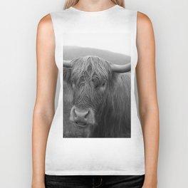 Highland cow I Biker Tank