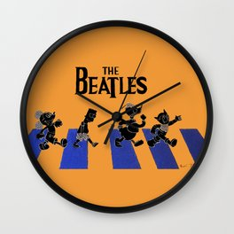WHICH WAY TO ABBEY ROAD? Wall Clock