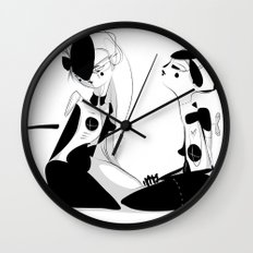 Play - Emilie Record Wall Clock
