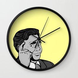 Thinking Posterize | Digital Art Wall Clock