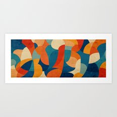 Curves - Paradise Art Print