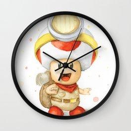 Captain Toad Wall Clock