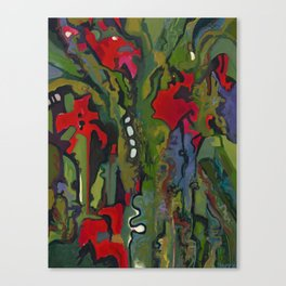 Offering to Xochiquetzal Canvas Print