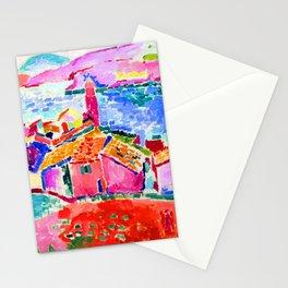 Henri Matisse Les toits de Collioure Stationery Cards