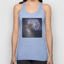 Pixel Nebula Unisex Tank Top