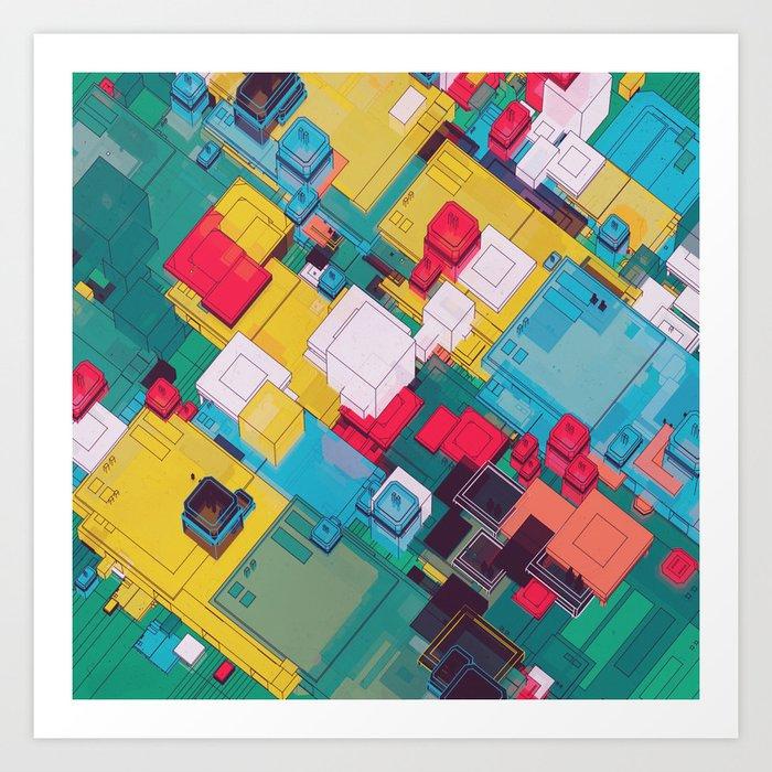 FLOOR 100 (09.30.15) Art Print