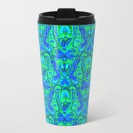 Moroccan Inspired Paisley Tile Travel Mug