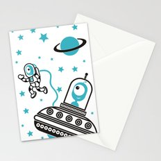 space Blue! Stationery Cards