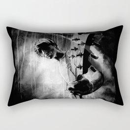 The GUITAR GOD - black version Rectangular Pillow