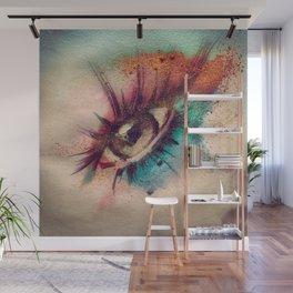 Eye Spillz Wall Mural